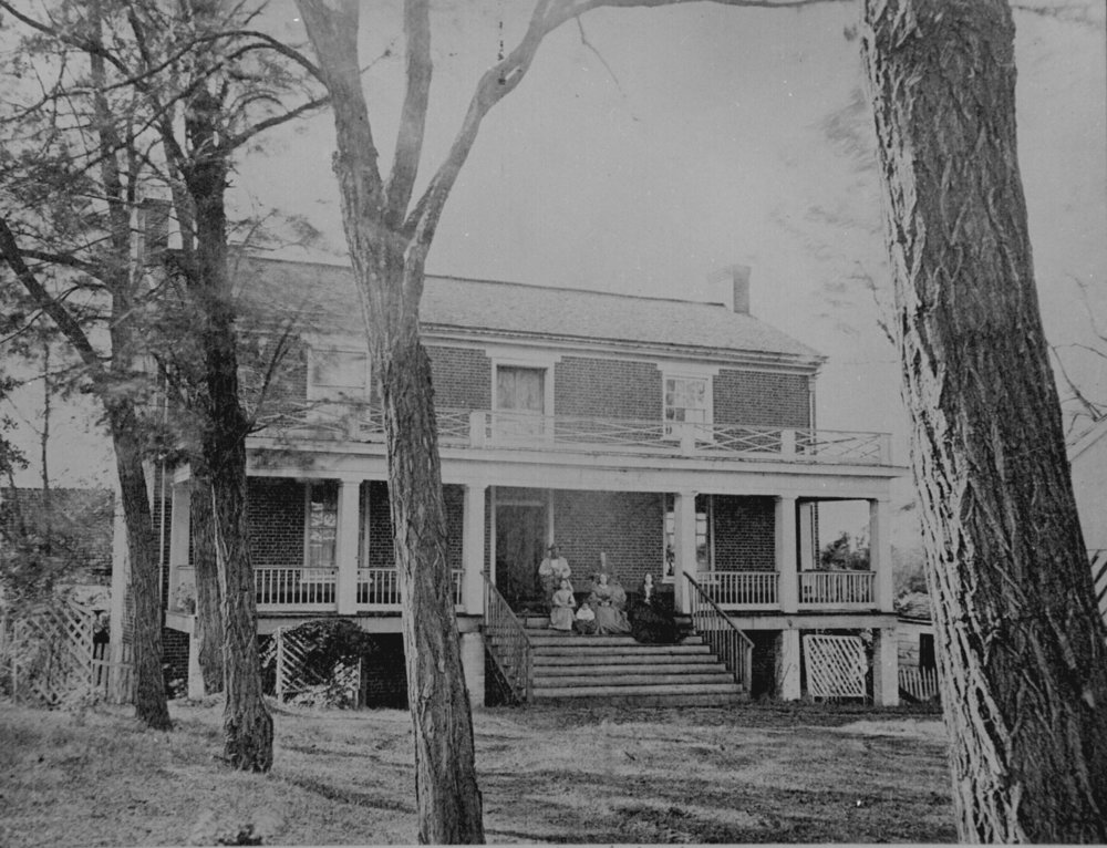 McLean house at Appomattox Courthouse hosted Lee's surrender of the Army of Northern Virginia, effectively ending the Civil War.