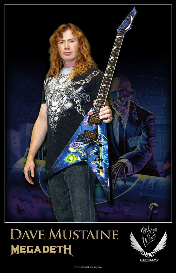 Dave Mustaine // Megadeath