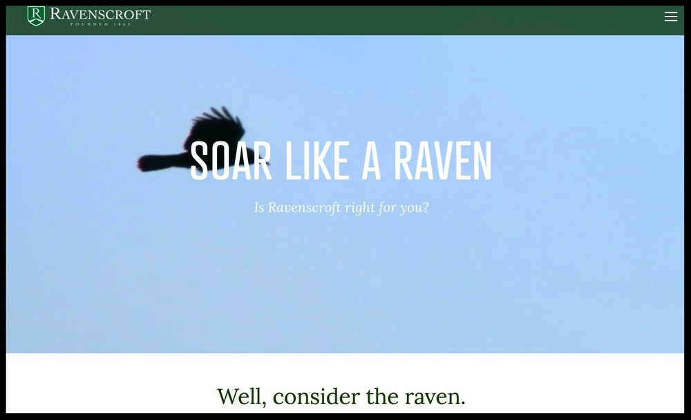 PREPARE TO SOAR microsite