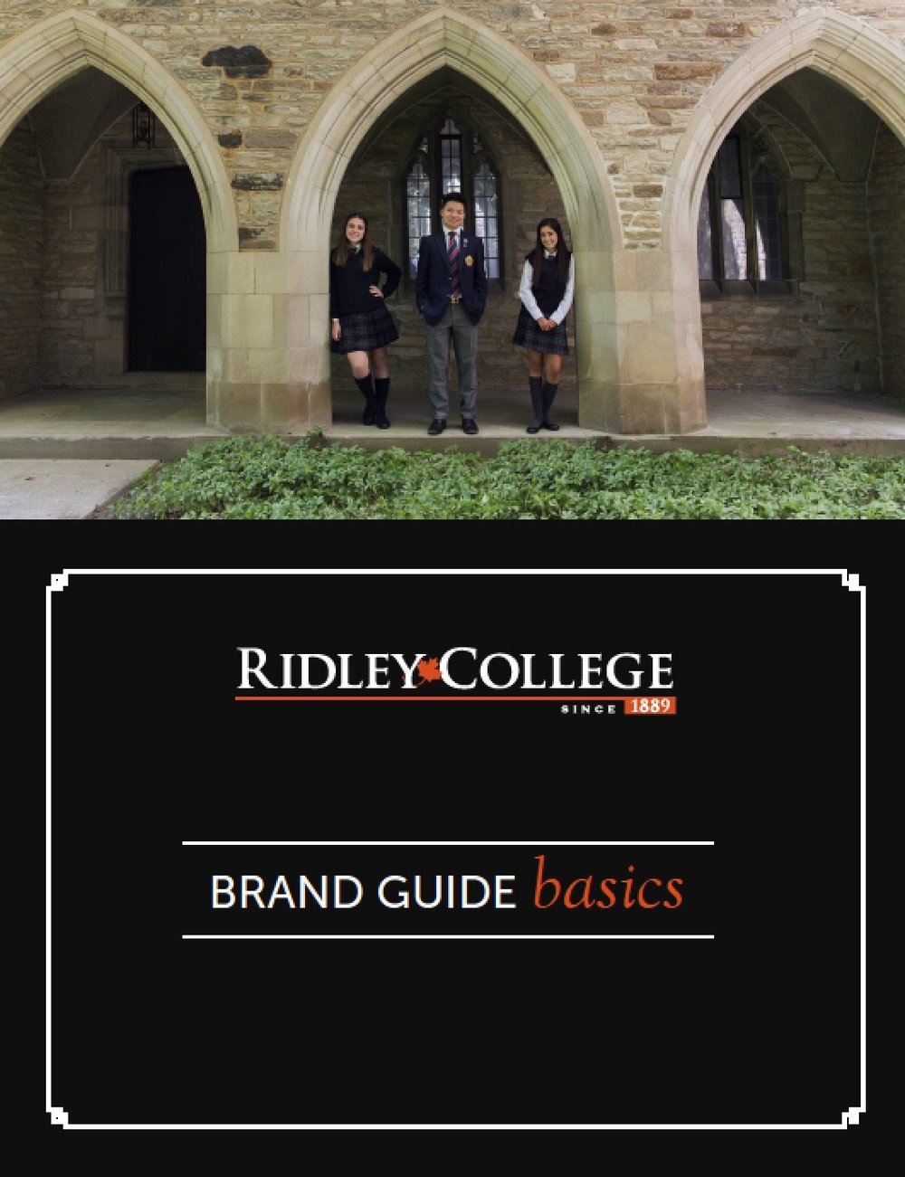 establish your school's brand guide before initiating an engagement strategy.