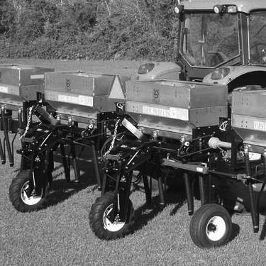 Ground Drive Granular Fertilizer Hoppers