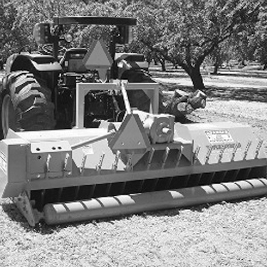 Tractor Mount Brush Shredder