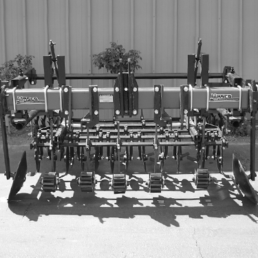 6 line Vegtable Cultivator