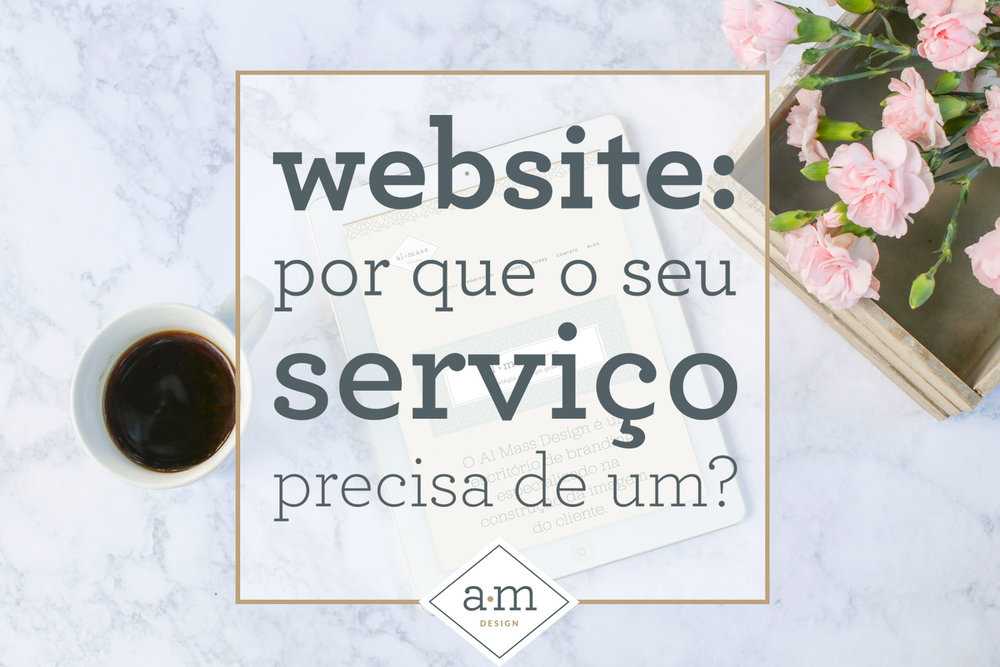 website para serviço