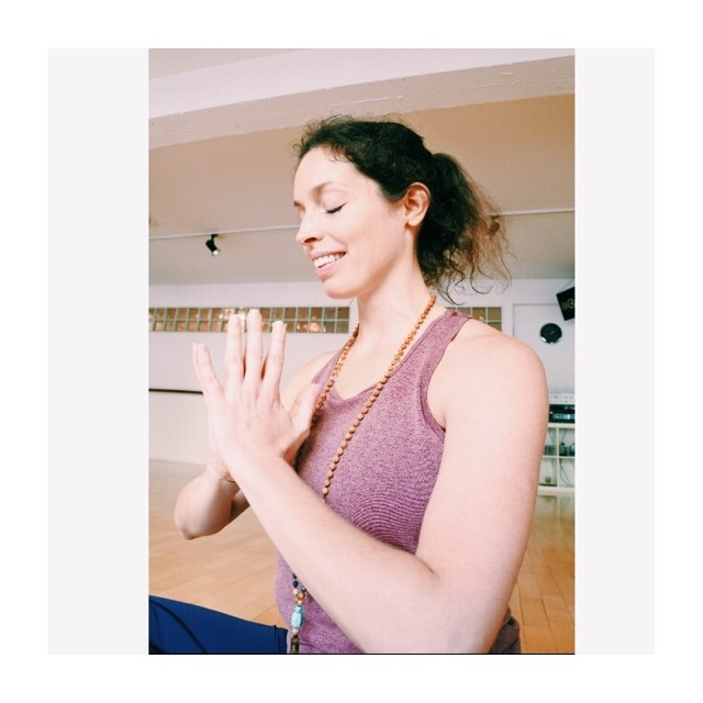 Ludmila is our new Yoga instructor!