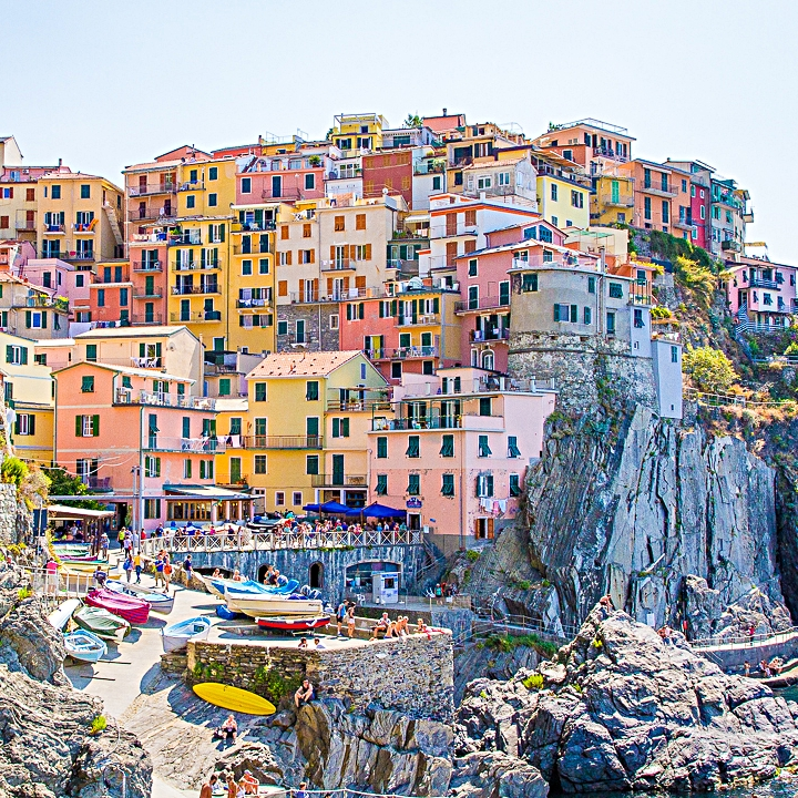 I don't own photo creds, but this is a beautiful depiction of the colorful Cinque Terre