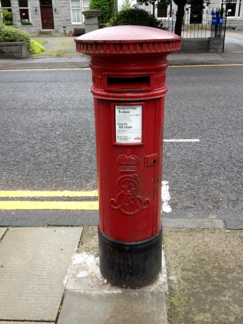 Edward VII pillar box