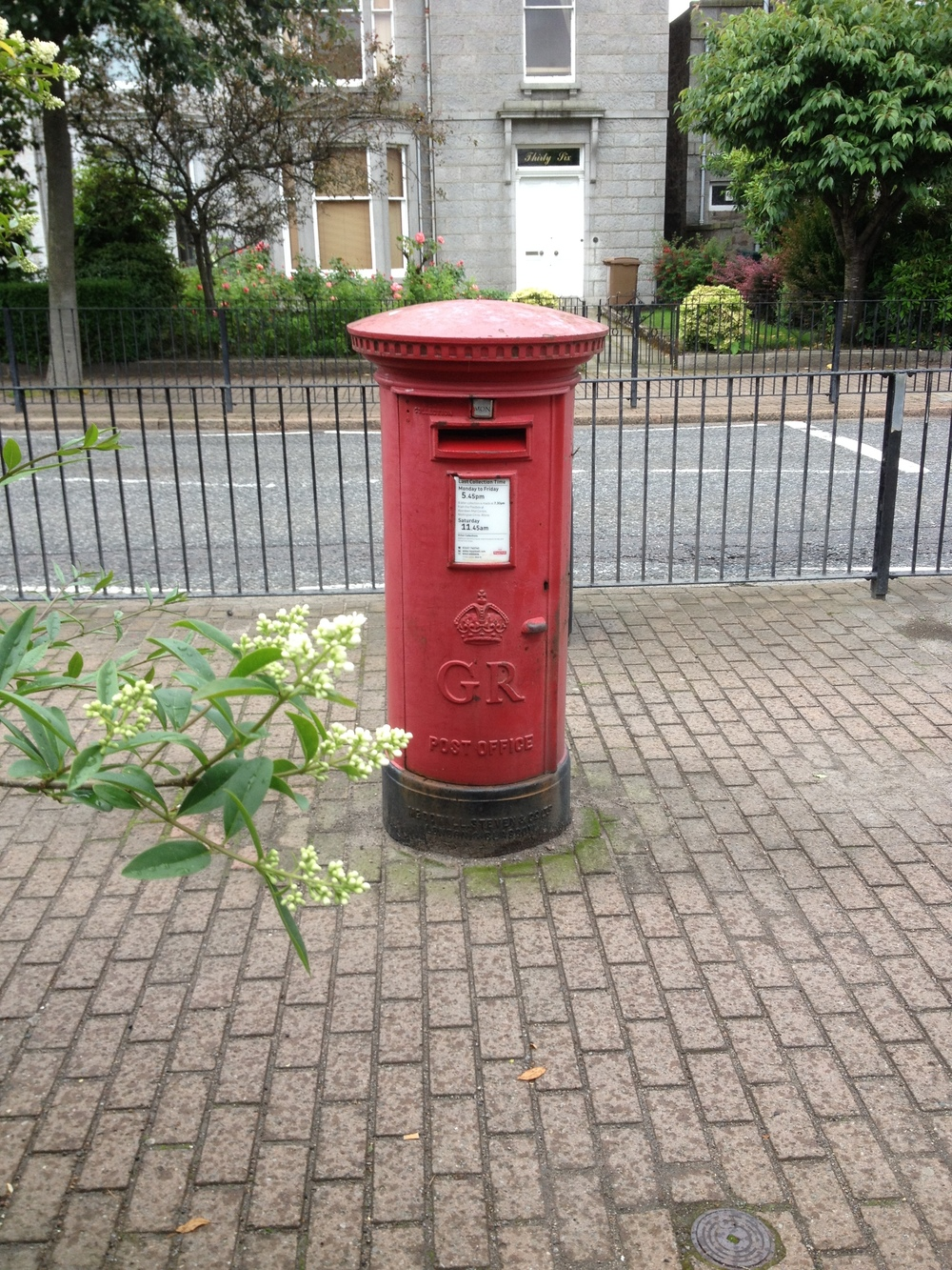 Fountainhall Road postbox