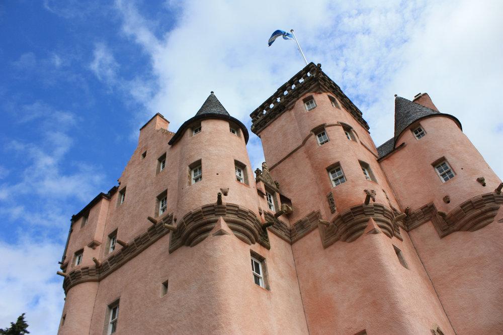 Craigievar Castle. Credit Nick Bramhall.