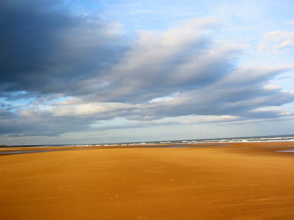 Balmedie Beach. Credit juicyverve.