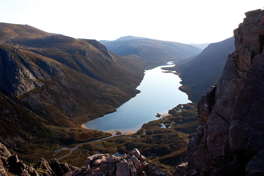 Loch Avon, Cairngorms. Credit Nick Bramhall.