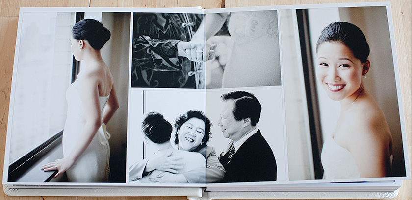 Example of a Photo Book by ARENS FOTO Weding Photographers in Costa Rica