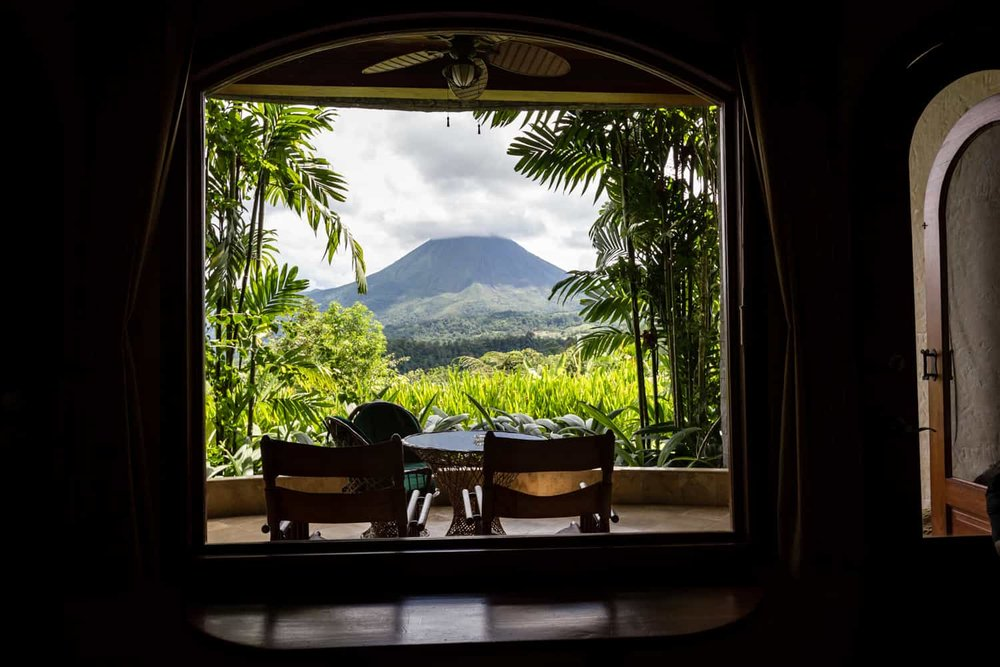 View the Arenal Volcano from your Springs Resort guest room.