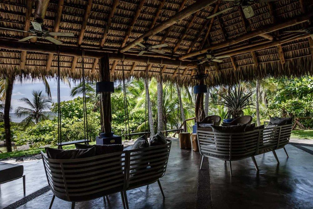 Wedding celebration venue at Hotel Punta Islita with beach views.