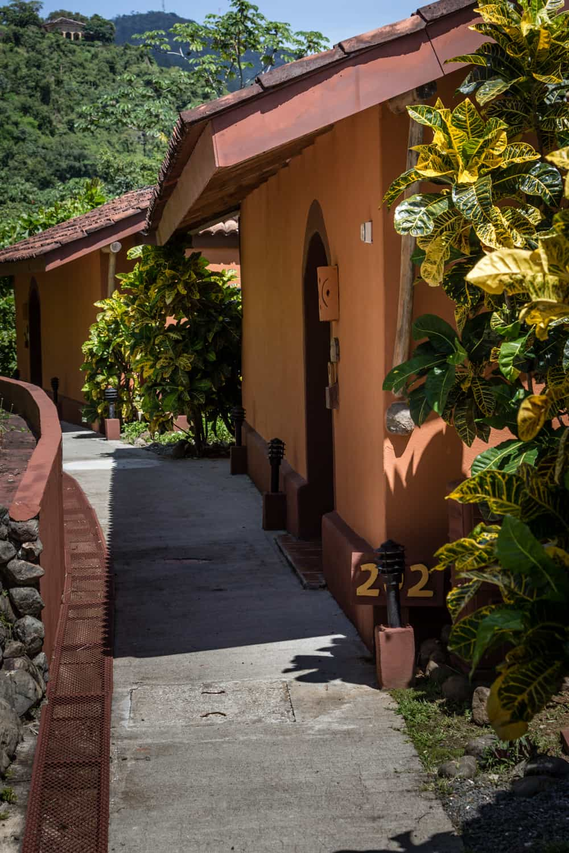 Walkway leading to Jr. Premium Suite at Hotel Punta Islita.