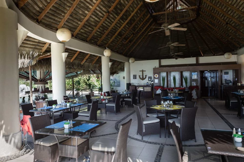 Gourmet restaurant at great wedding location in Guanacaste.