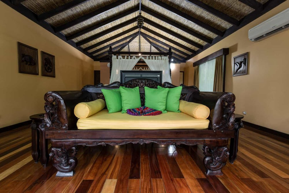 Beautiful suite for just married couple at Rio Celeste Hideaway Hotel.