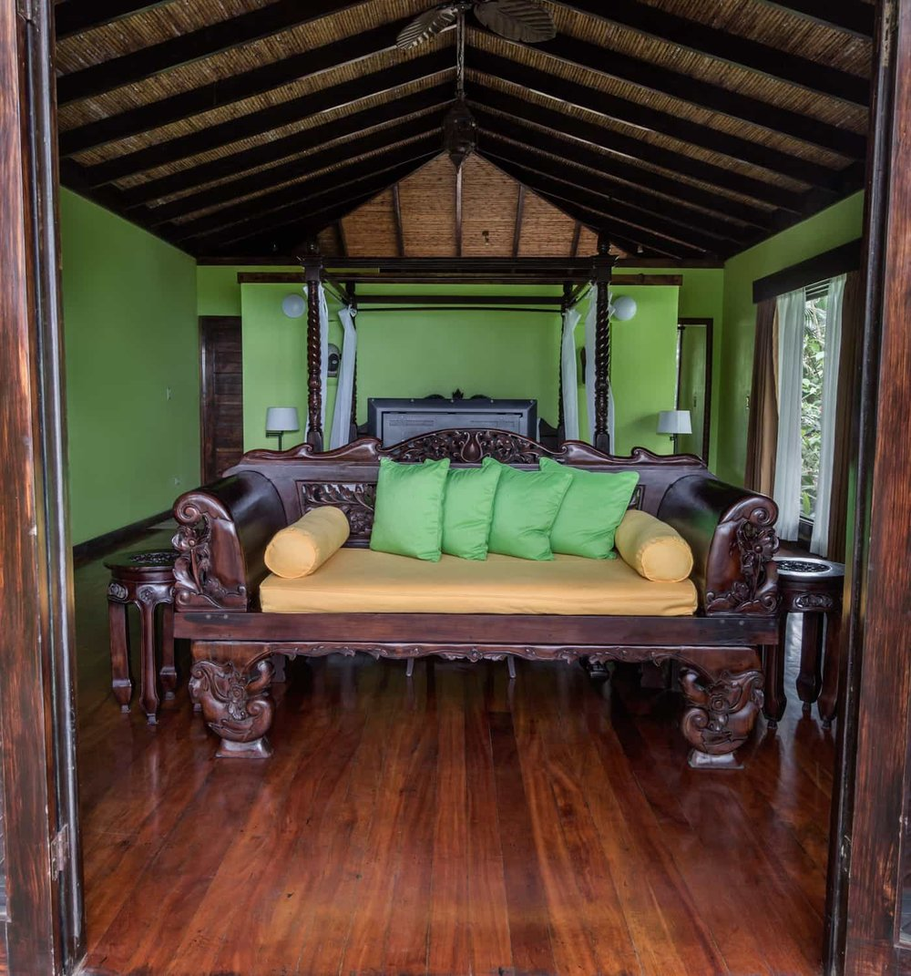 Rio Celeste Hideaway Hotel's amazing guest room for wedding guests.