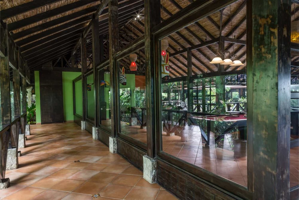 Great place for a private wedding reception at Rio Celeste Hideaway Hotel.
