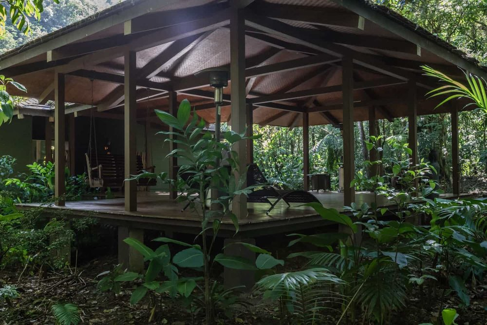 Great place for cloud forest wedding ceremony at El Silencio Lodge.