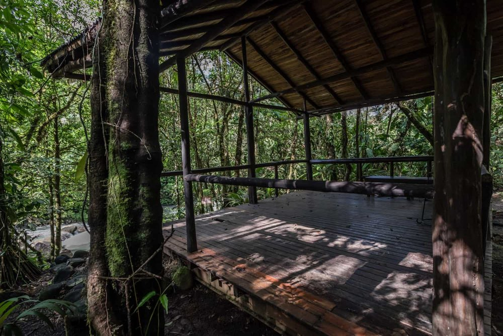Great place for intimate weddings by blue river at Rio Celeste Hideaway Hotel.