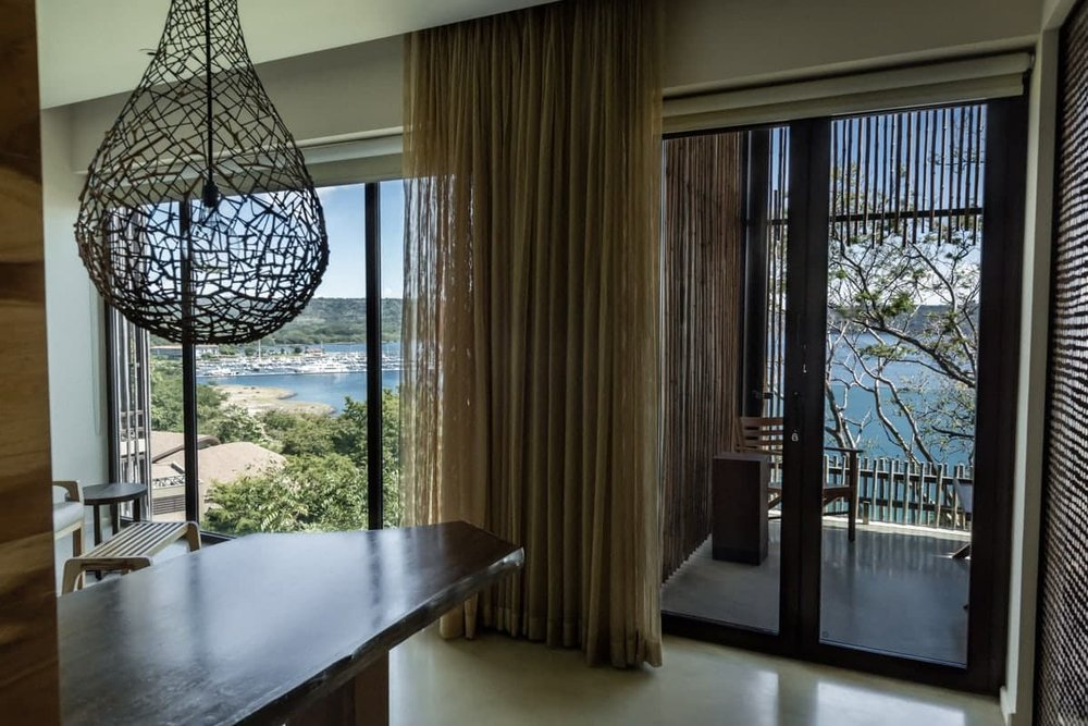 Andaz Resort's standard accommodations for wedding guests.