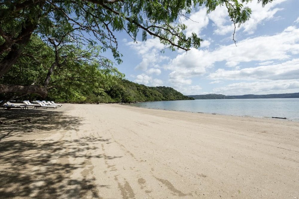 Gorgeous beach for wedding ceremony at Andaz Resort, Papagayo.