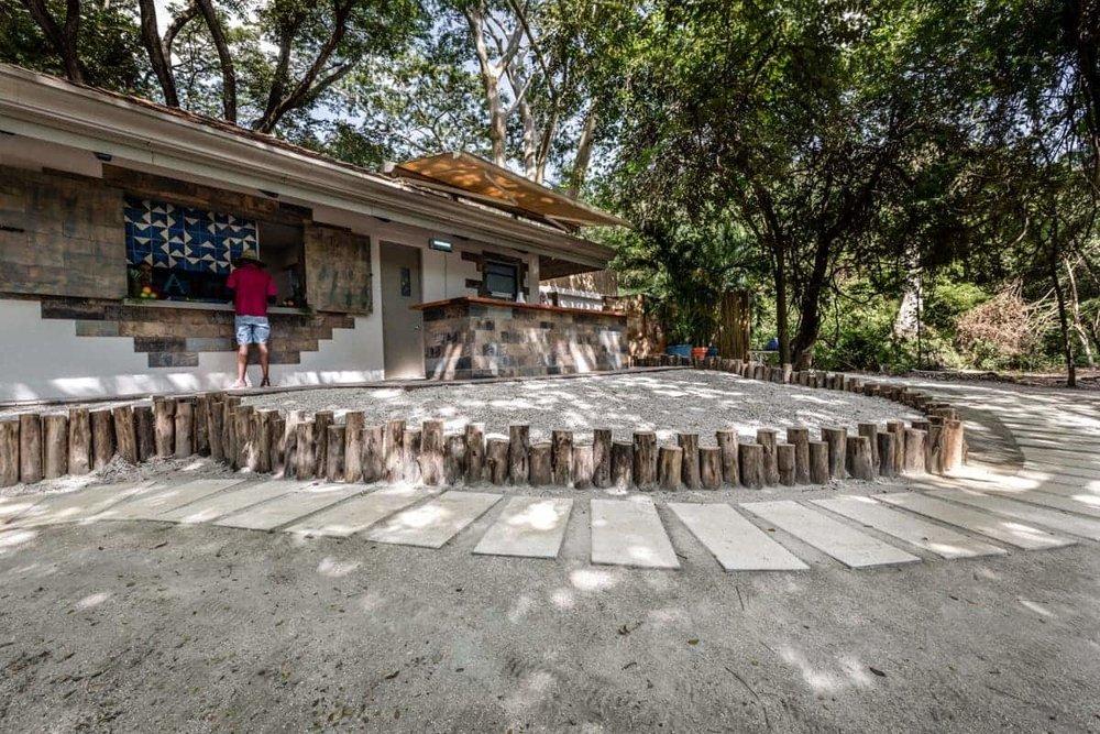 Beach restaurant at Andaz's resort in Papagayo
