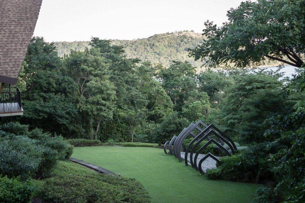 Andaz Resort's garden location for outdoor wedding ceremonies.