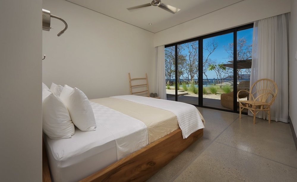 Ocean view from luxury accommodations for wedding guests at Villa Morabeza.