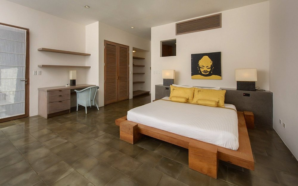 Gorgeous guest room for wedding guests at Casa Alang Alang.