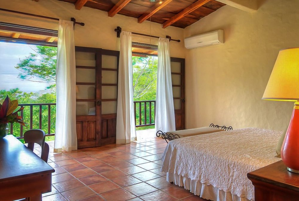 Rustic-luxury accommodations for wedding guests at Hacienda Barrigona.