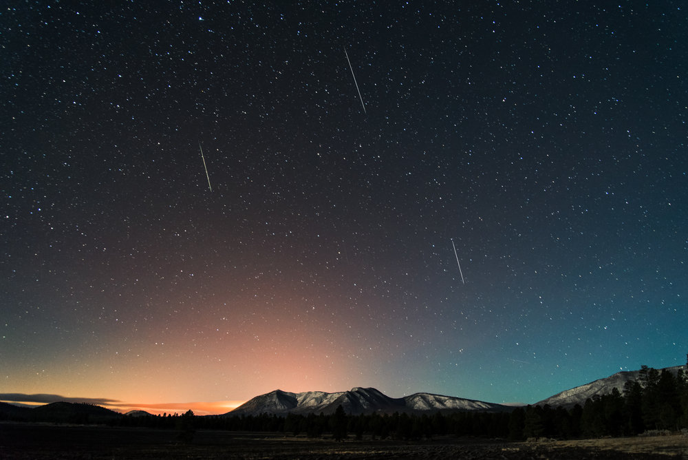 2014 Geminid Meteor Shower