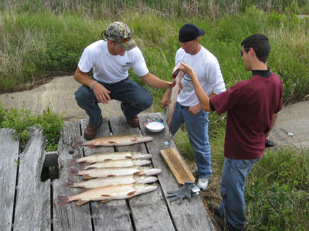 Canada Fishing Trip 2010 - Georgian Bay, Ontario, Canada