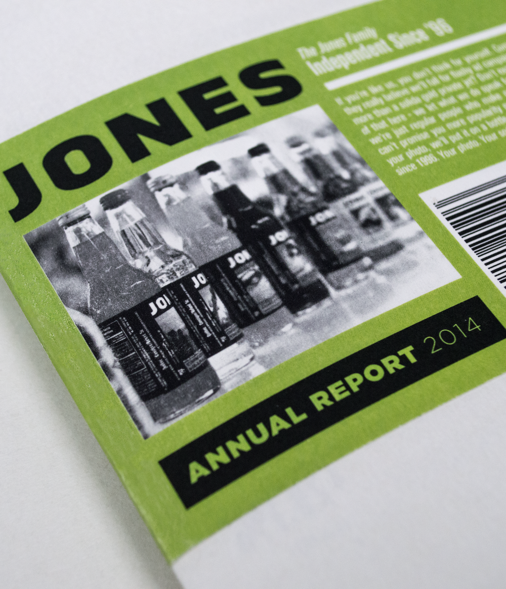 Jones Soda Annual Report