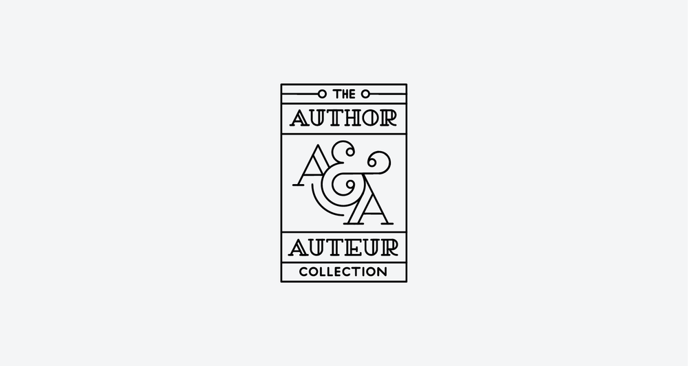 the Author & Auteur Collection - Packaging