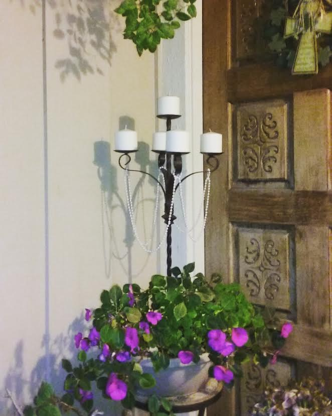 Porch Candelabra