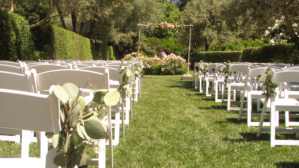The Ceremony Aisle (Merner Green).