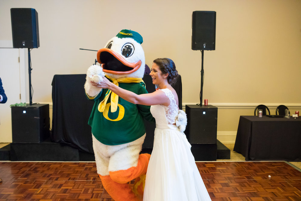 Perfectly Planned Moments Eugene Oregon Wedding Planner Downtown Athletic Club UofO Duck.jpg