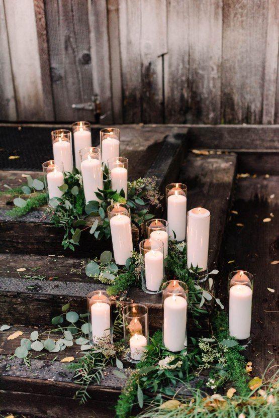 Unique Wedding Rustic Candles Eucalyptus.jpg