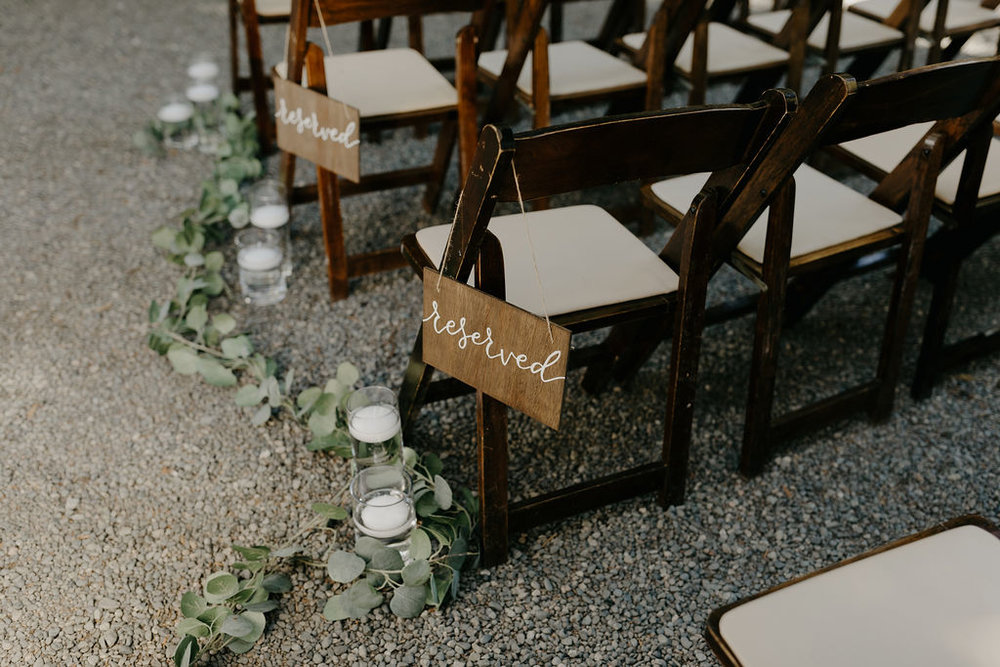 Deer Park Villa Wedding Planner Perfectly Planned Moments Nirav Patel Photography Ceremony Reserved Signs.JPG