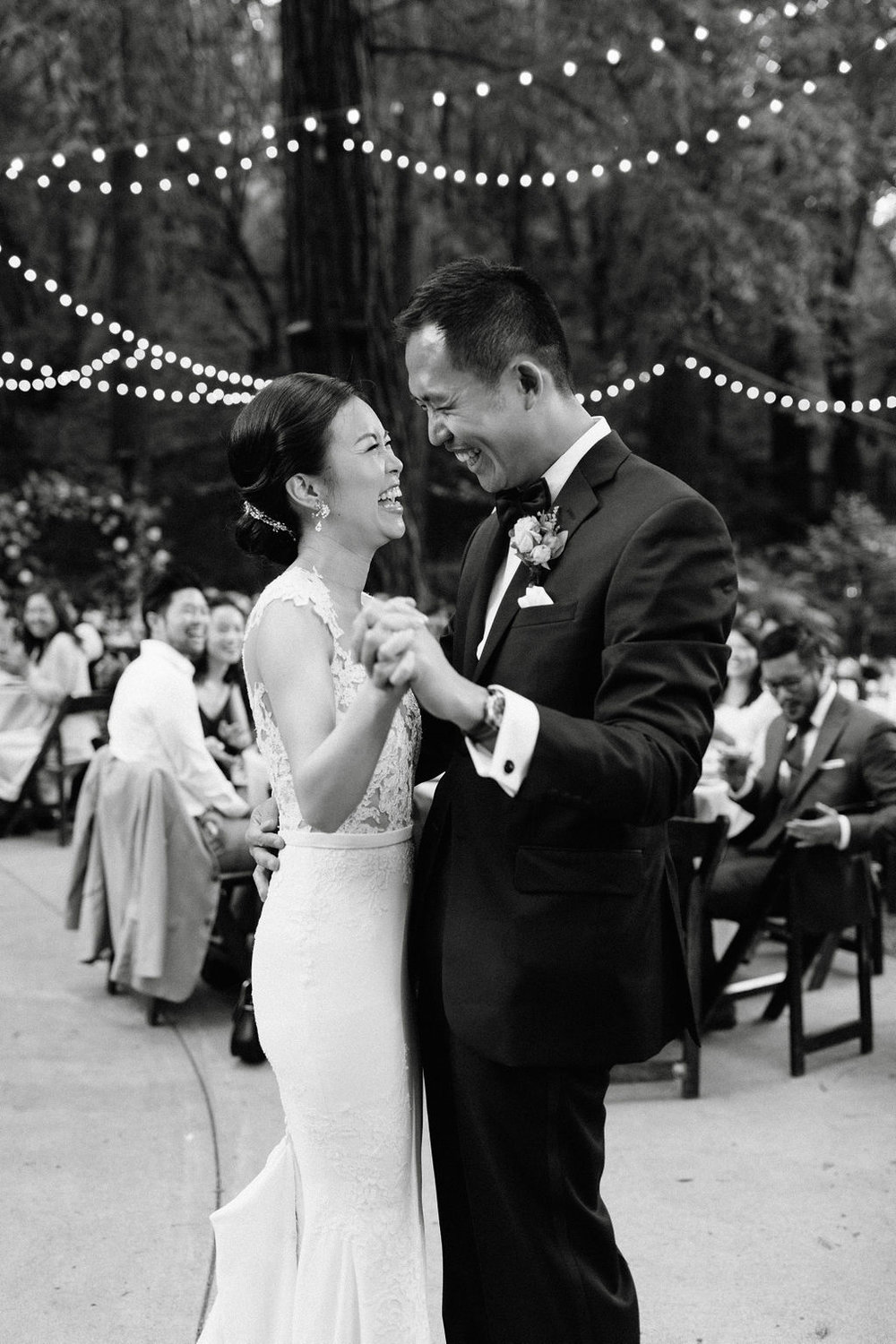 Deer Park Villa Wedding Planner Perfectly Planned Moments Nirav Patel Photography First Dance Black and White.JPG