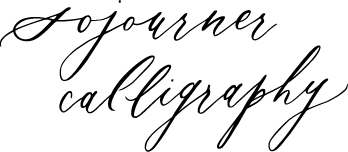 Sojourner Calligraphy