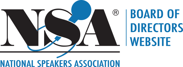 National Speakers Association - Board of Directors Website