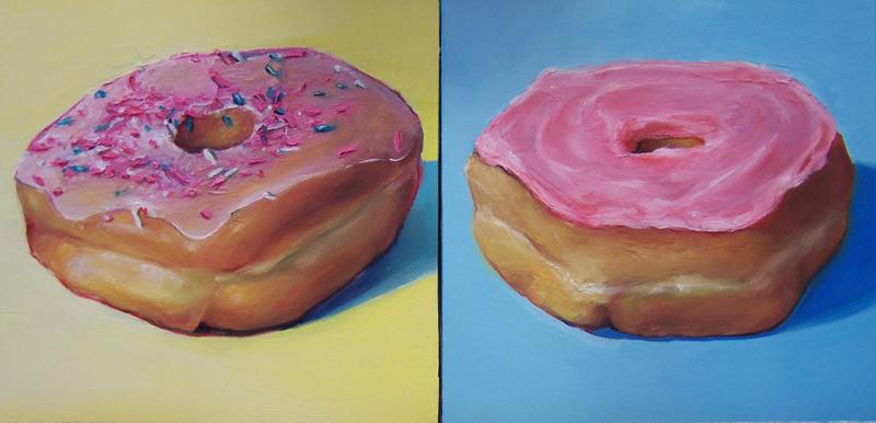 A Donut Diptych