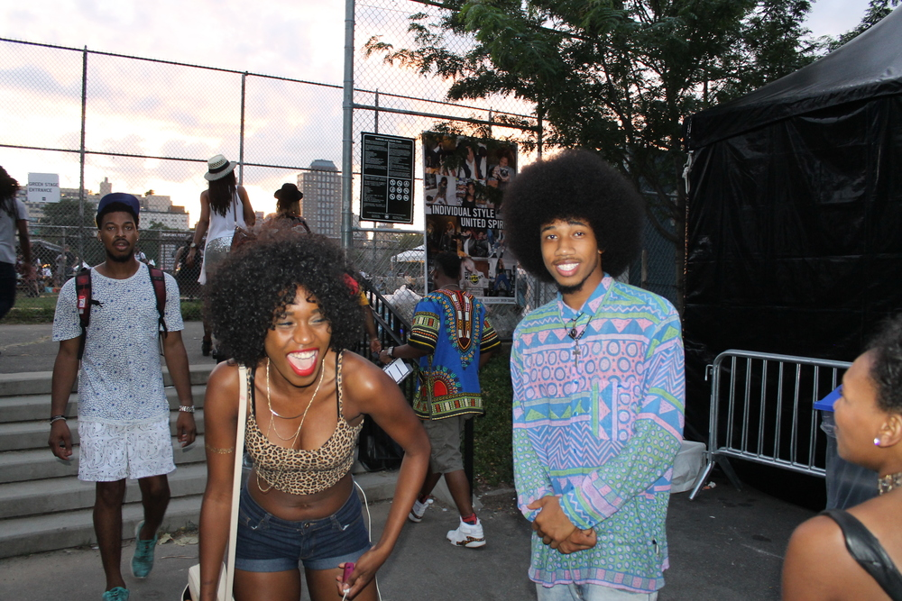 Last year the day I met Vasco at Afropunk - Don't mind me, I was drunk ;)