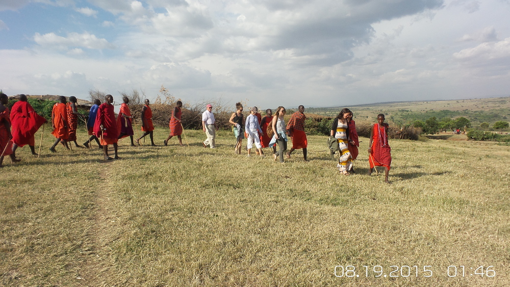 Tour with the Masai, who taught us about their culture and showed us their homes. One of many tours offered by Kichwa Tembo.