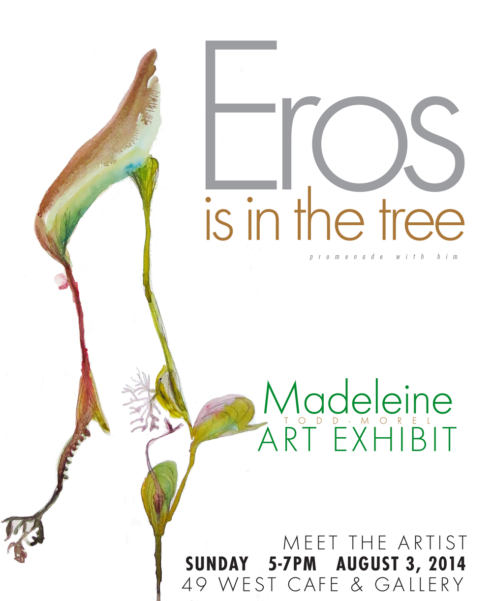 Eros is in the tree exhibition- Annapolis, MD
