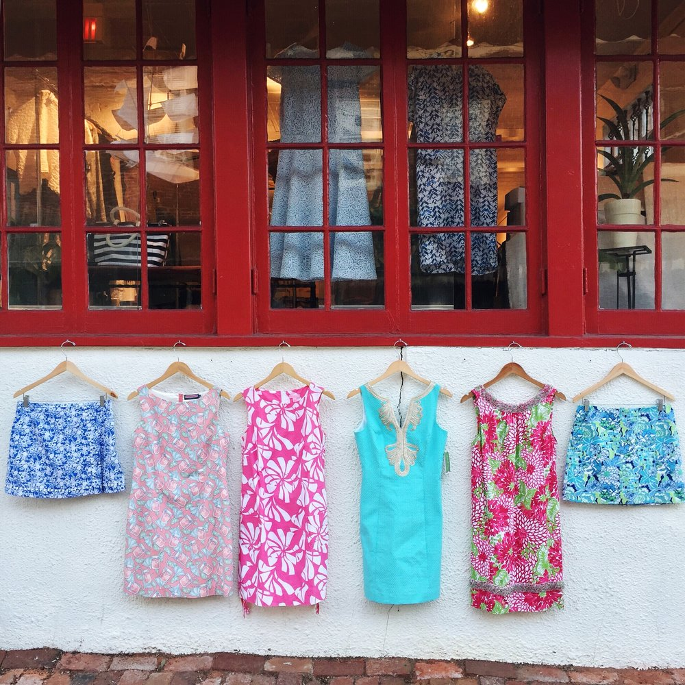 Spring was our busiest season by far- we sold so many bright Lilly frocks that I can't even begin to count.