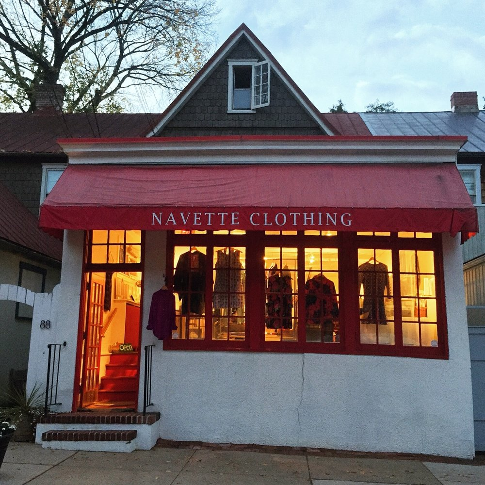 Our shop at 88 Maryland Avenue, from 2012 to 2016.